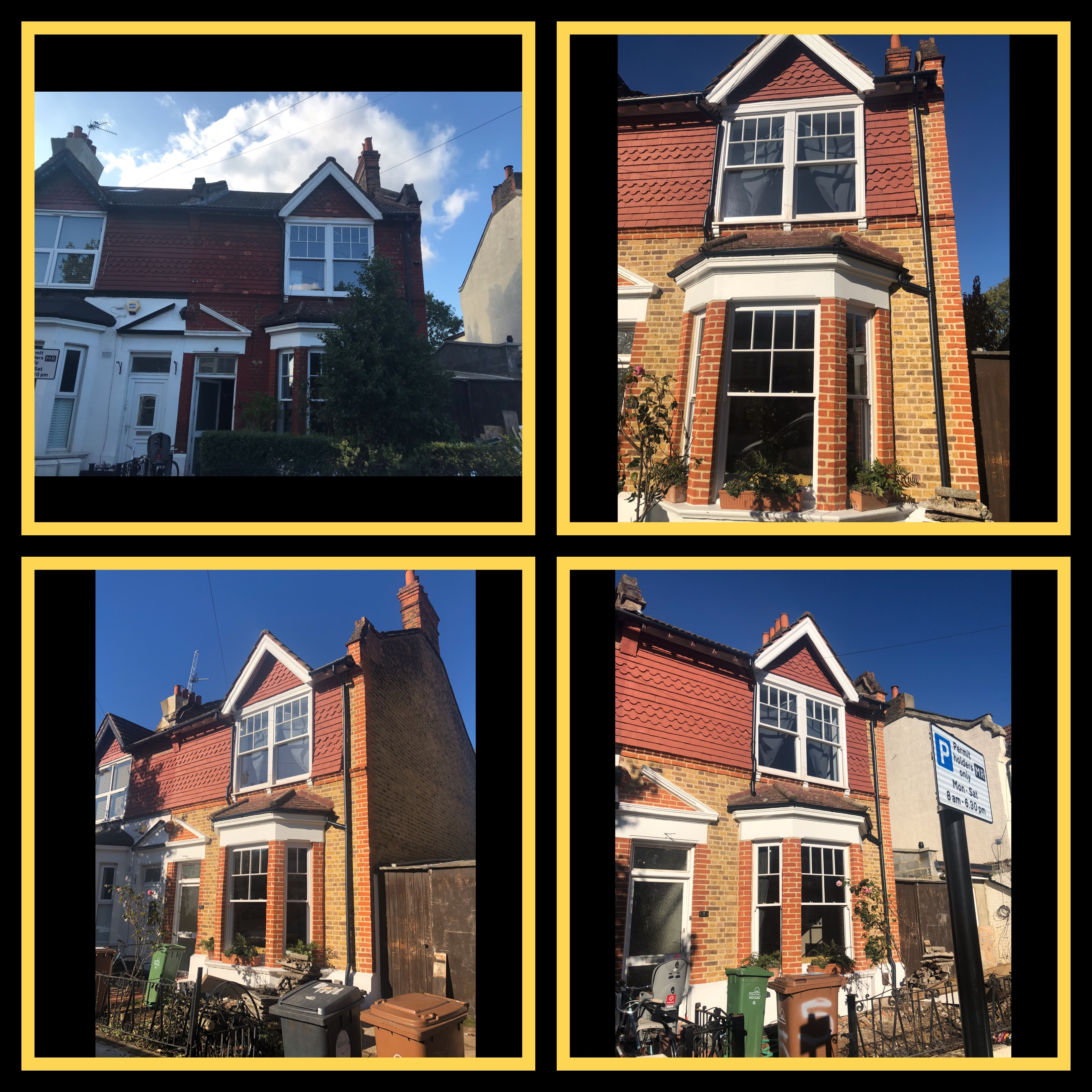 VICTORIAN EXTERIOR RESTORATION RENDERING DECORATING